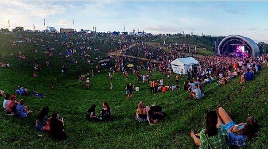 large festival amphitheater