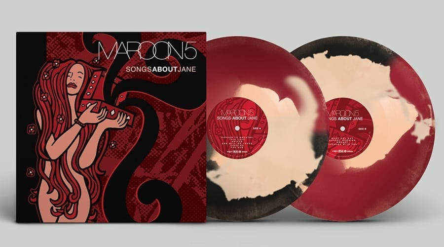 Vinyl Maroon 5 - Songs About Jane